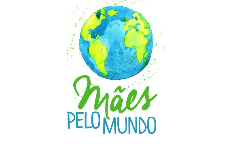 Logo Mães pelo Mundo