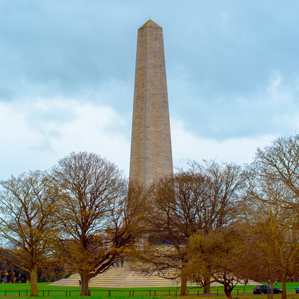 The Wellington Monument, Dublin, Irlanda