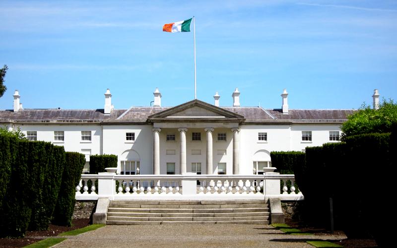 Residência do Presidente na Irlanda