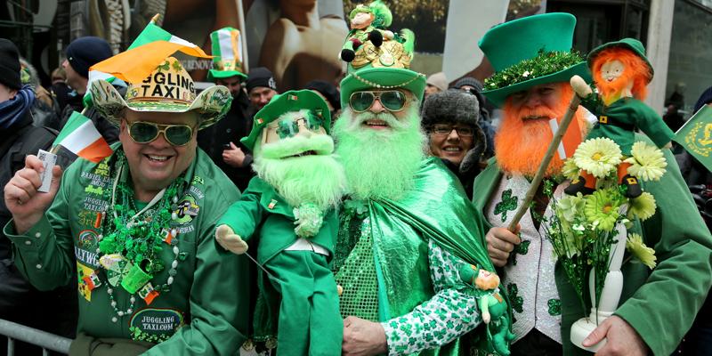 Curiosidades da Irlanda, Saint Patrick's Day