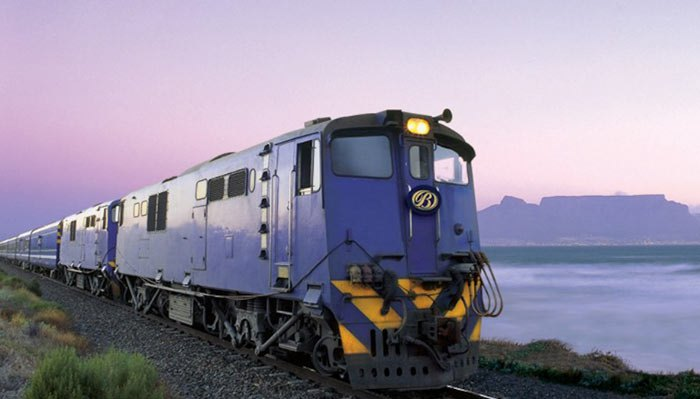 Blue Train: De Pretoria a Cape Town