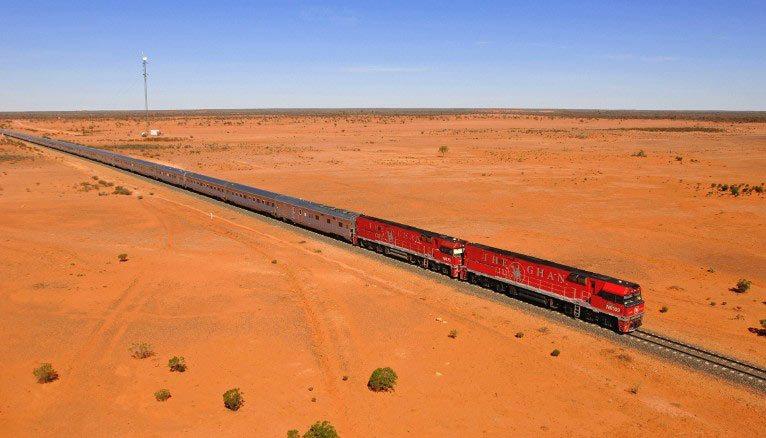 O Ghan: de Adelaide até Darwin