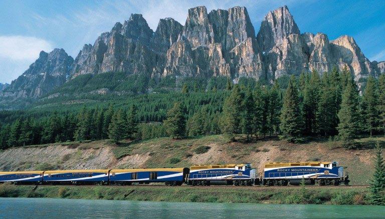 The Rock Mountaineer: De Banff à Vancouver