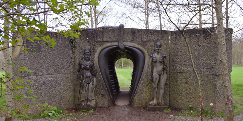 VICTOR'S WAY. The Indian Sculpture Park, Roundwood