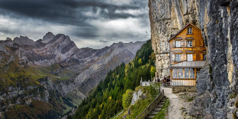 Ascher-Cliff- Suiça