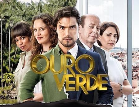 """Silvia Pfeifer é uma das protagonistas da novela """"Ouro Verde"""""""