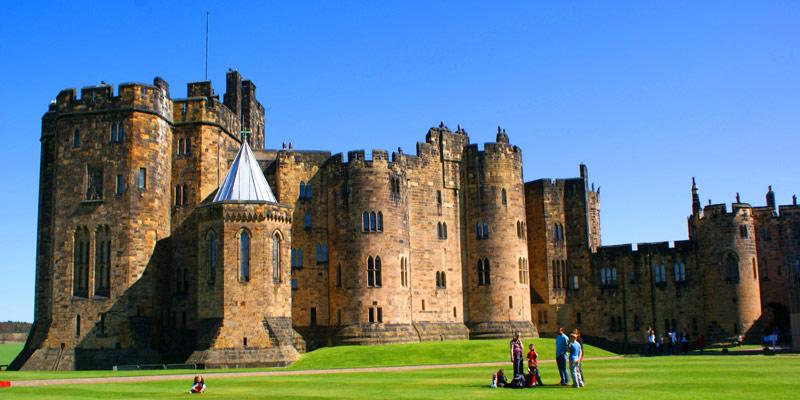 castelo-de-Alnwick