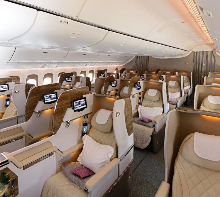 Emirates também atualizou suas cabines comerciais e de classe econômica