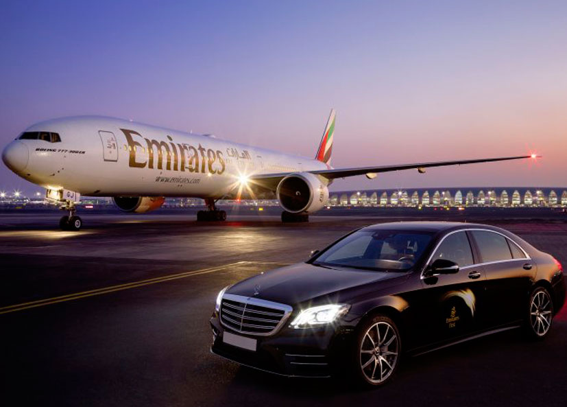 Inspiração da Emirates na Mercedez Bens